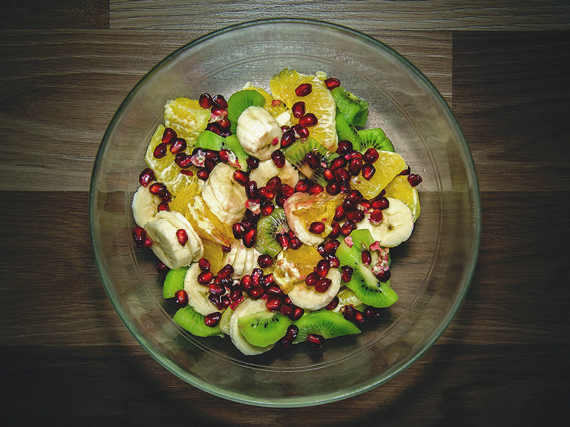 Салаты фруктовые фото